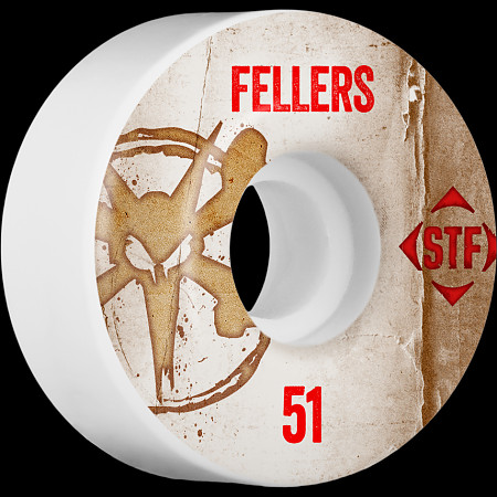 BONES WHEELS STF Pro Fellers Team Vintage Wheel 51mm 4pk