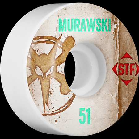 BONES WHEELS STF Pro Murawski Team Vintage Wheel 51mm 4pk